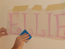 How to apply vinyl lettering - photo 3