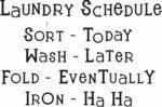 Laundry Wall Sayings
